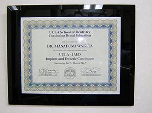 脇田院長は3月26日から3月31日までUCLAでの研修(ロサンゼルス)に参加いたしました
