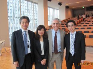 南カリフォルニア大学歯周病科臨床教授のProf. ホーマー・ザデの講演に参加致しました