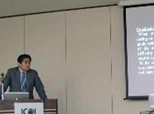 ICOI(International Congress of Oral Implantologists)2011年日本学術大会にて講演を行いました。