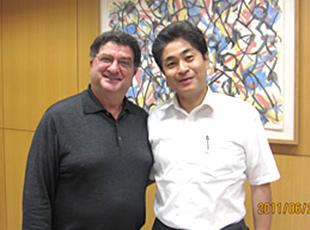 コロンビア大学デニス・ターナー教授の研修を受講しました。