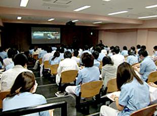 日本大学松戸歯学部にて臨床講義