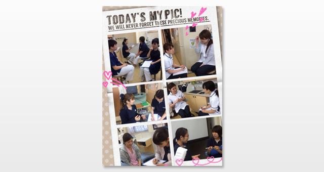 2015年7月17日に濱田真理子先生による医療面接のトレーニングを当院スタッフ全員で受けました。